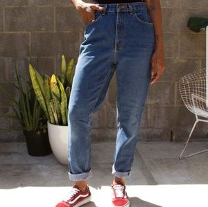 L.A. BLUES VINTAGE 80'S 90'S HIGH WAISTED MOM JEAN